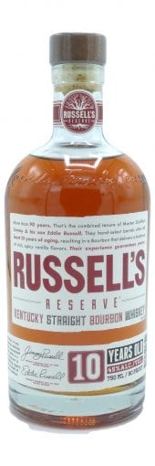 Russell's Reserve Bourbon Whiskey 10 Year Old 750ml